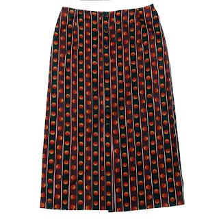 Prada Button Front Skirt