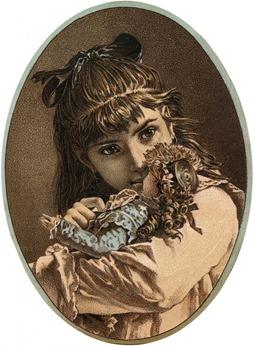 Doll Vintage Clip Art