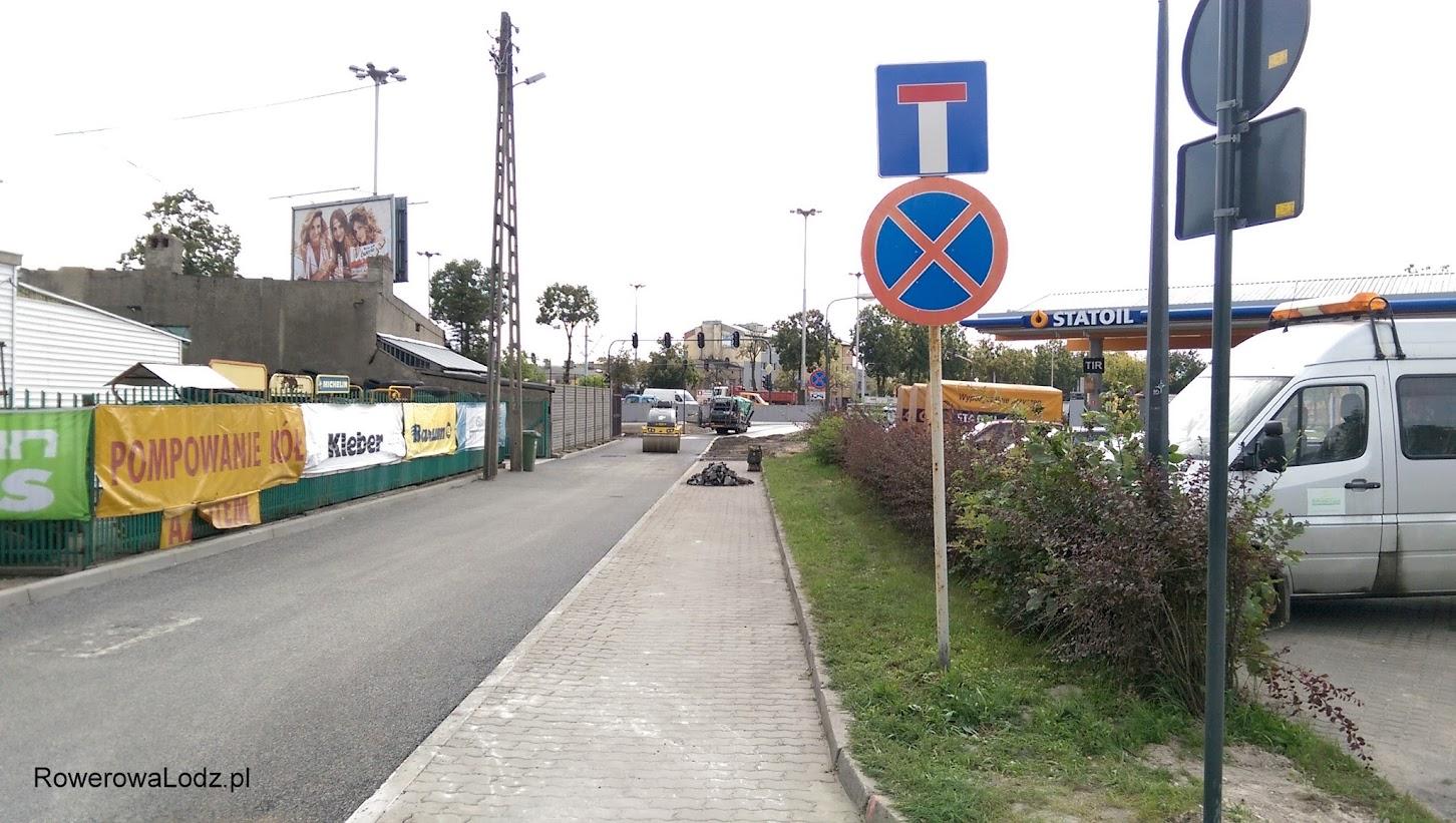 Ulica Toruńska jako fragment ddr