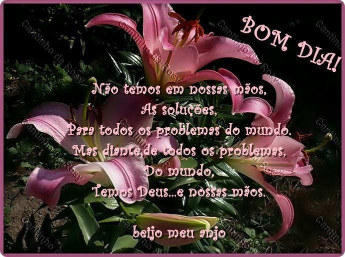 Mensagens De Bom Dia Flores: Cantinho Da Rosy » Bom Dia / Flores
