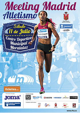 Meeting Internacional de Atletismo de Madrid en Moratalaz
