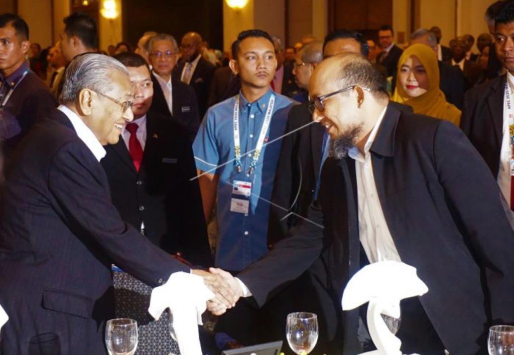 Novel Baswedan Terima Penghargaan Perdana International Anti-Corruption Champion Foundation di Malaysia