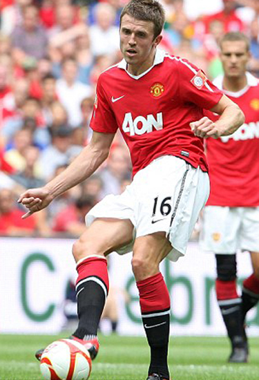 Michael Carrick Man Utd Barclays Premier League