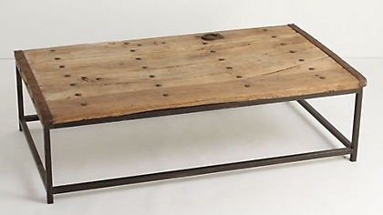 HDC, Holbrook Coffee Table, $369 Anthropologie, Open House Coffee Table,  $1,198