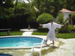 Bobby Rio At His Villa