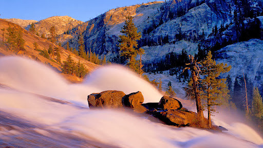Waterwheel Falls, Yosemite Backcountry, California.jpg