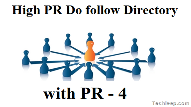 follow Directory Submission Sites List with PR - 4