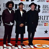 OIC - ENTSIMAGES.COM - Major Lazer at the  The BRIT Awards 2016 (BRITs) in London 24th February 2016.  Raymond Weil's  Official Watch and  Timing Partner for the BRIT Awards. Photo Mobis Photos/OIC 0203 174 1069