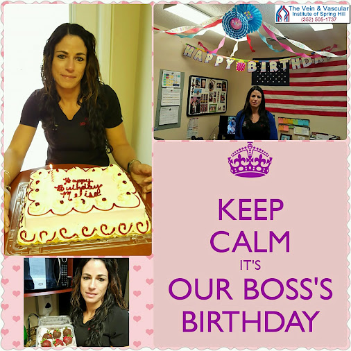 Celebrating Melisa's birthday today! Happy birthday to our awesome Lutz office manager...thank you ...