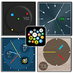 Bubble Cloud Watch Face Pack 7 Icon