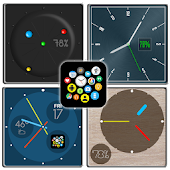 "Bubble Cloud Watch Face Pack 7 - ""Minimalistic"""
