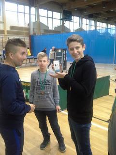Drużynowe Gminno – Powiatowe Igrzyska Młodzieży Szkolnej i Gimnazjada w Tenisie Stołowym