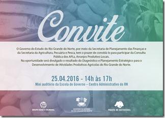 Convite PNAE