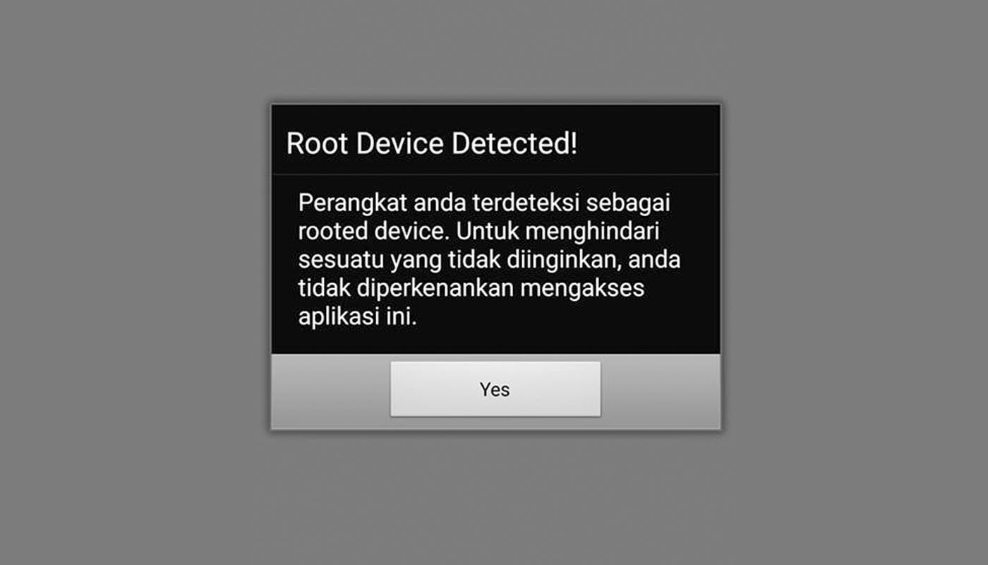 Cara menghilangkan security warning di android