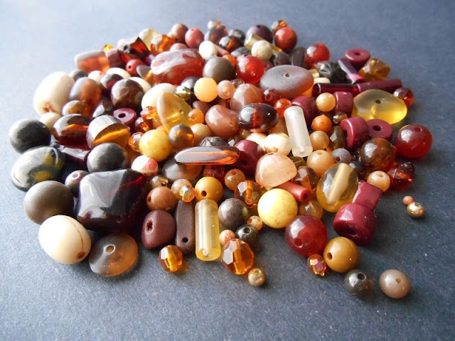Autumn Colors Vintage Bead Giveaway