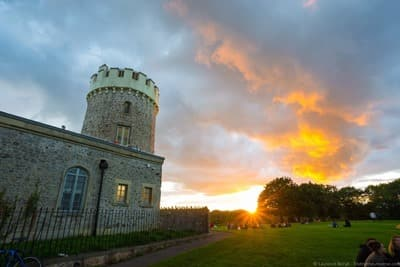 Clifton Observatory Sunset