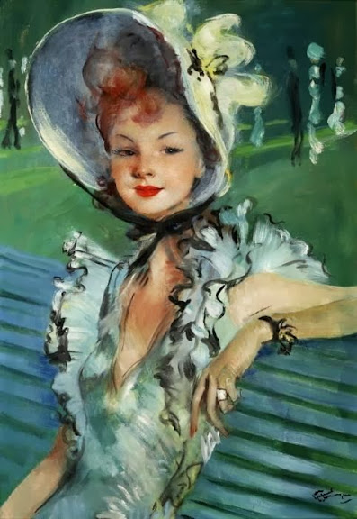 Jean-Gabriel Domergue - Garden Party