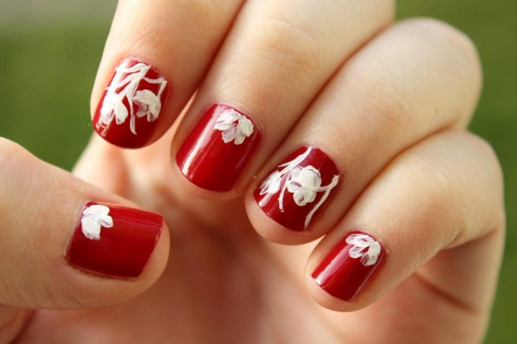 D Flower Nail Designs