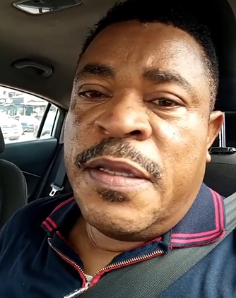 Hilarious! Actor Victor Osuagwu says his late mum has been appearing in his dream asking for a 'reburial' after the much talked about Obi Cubana's mum's burial (video)