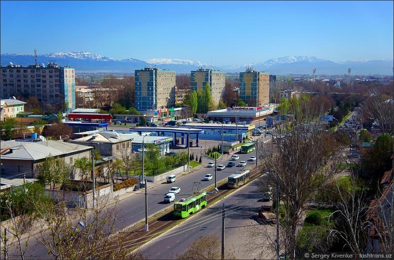 Ташкент. Очередной вид сверху