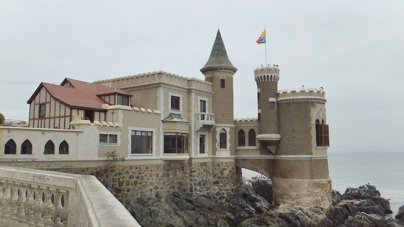 Chateau Wulff, Castillo, Viña del Mar, Chile, elisaorigami, travel, blogger, voyages, lifestyle