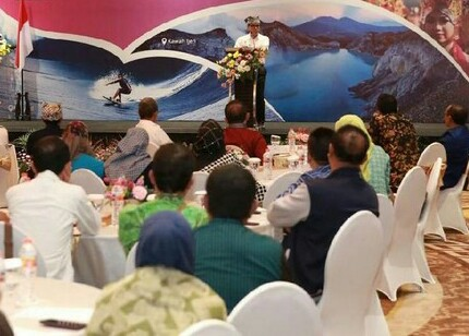 RAPAT KOORDINASI TEKNIS PARIWISATA DIIKUTI 200 PELAKU WISATA KHUSUS KAWASAN INDONESIA TIMUR