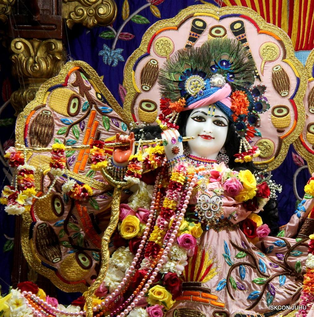 ISKCON Juhu Sringar Deity Darshan 10 Jan 2017 (43)