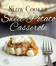 Boston Market Inspired Slow Cooker Sweet Potato Casserole