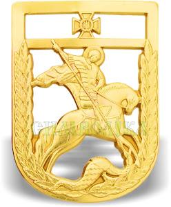 Беретний знак Державна прикордонна служба металевий 2018