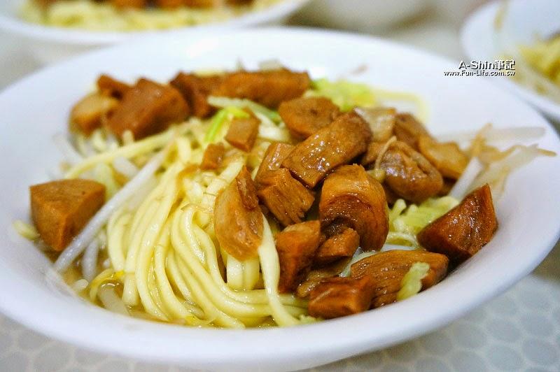 彰化鹿港小吃,林明堂素食麵-8