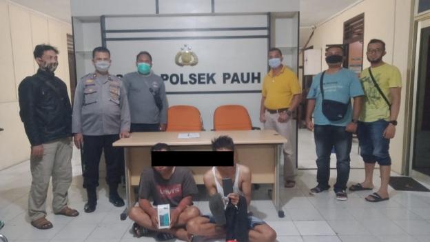 Reskrim Polsek Pauh Berhasil Amankan Pelaku Pencurian Kos-kosan