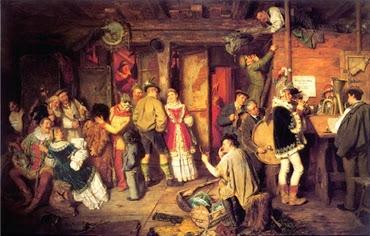 Bauerntheater in Buch/Tirol - Eduard von Grützner