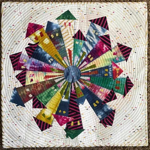 Dresden Neighborhood Quilt by Kim Lapacek