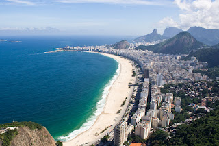 S plažo Copacabano