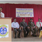 Moot and legal Society Inauguration