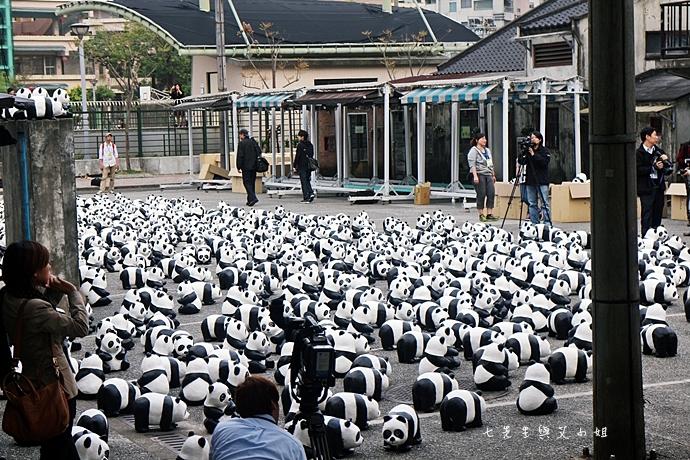 2 紙貓熊 1600貓熊之旅