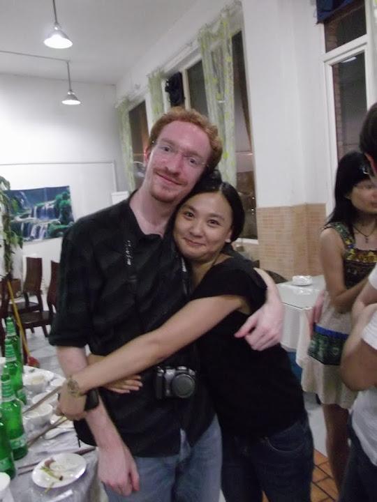 ShaoJuan et moi.