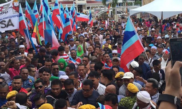 Najib gempur Semporna dengan umum dua berita gembira