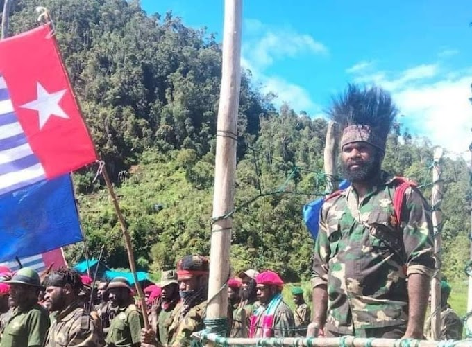 Gabungan TPN-PB - OPM 5 Kabupaten Wilayah Meepago Menolak Pengesahan RUU Otsus Papua Jilid II