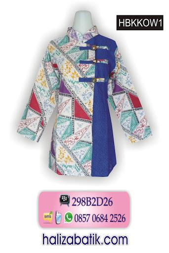 baju wanita, desain batik, atasan batik
