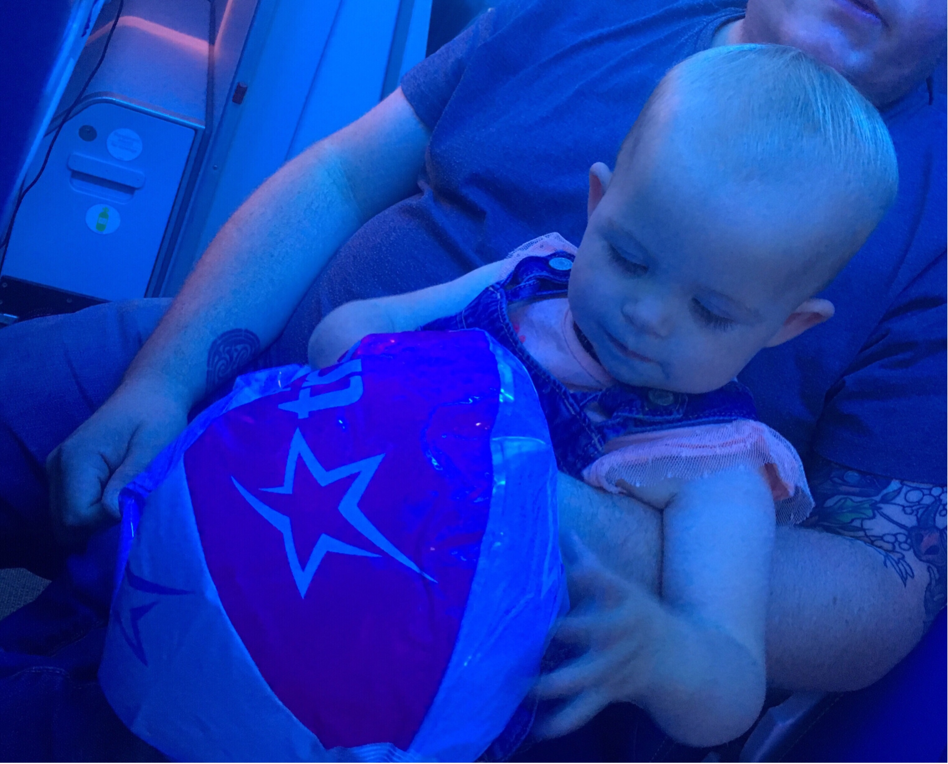 Should I buy a seat in flight for one year old