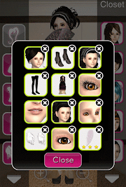 Click to Enlarge - Style Me Girl Level 48 - Victorian - Dot - Closet