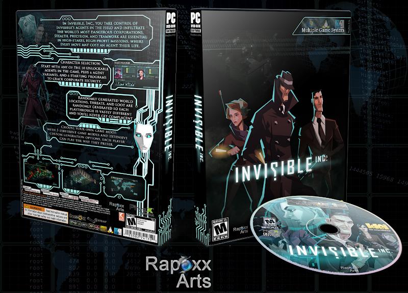 Capa Invisible Inc PC [Exclusiva]