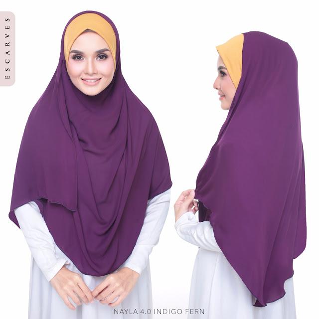 tudung shawl instant