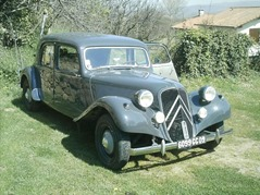 Citroen Traction 11 BL 1954 gris bruyère