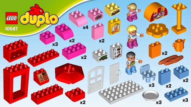Lego Duplo 10587 Quán Cafe giải khát chất lượng cao cấp, an toàn