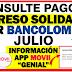 ¿Cómo puedo saber cuándo se va a transferir mi Ingreso Solidario en Bancolombia?