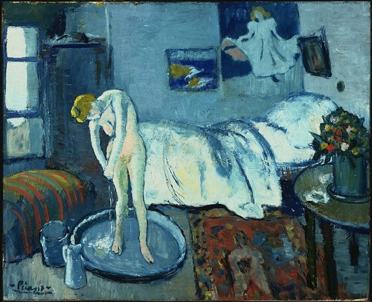Picasso's_Blue_Room_1901