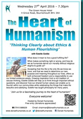 Heart of Humanism 27 April 2016