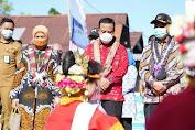 Didampingi Plt Gubernur Sulsel, Menko PMK Resmikan Pengoperasian Gedung Pusat Penanggulangan Gizi Terpadu di Bantaeng